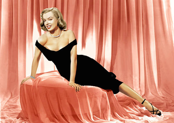 1950 Movies Poster featuring the photograph The Asphalt Jungle, Marilyn Monroe, 1950 by Everett
