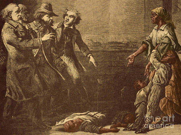America Poster featuring the photograph The Capture Of Margaret Garner by Photo Researchers