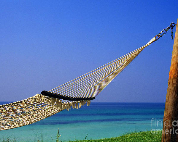 Hammock Poster featuring the photograph The Emerald Coast by Thomas R Fletcher