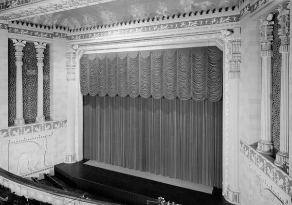 20th Century Poster featuring the photograph The Missouri Theater Building, View by Everett