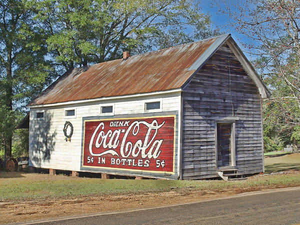 Old Store Poster featuring the photograph The Old Brantley Store by Steven Carey