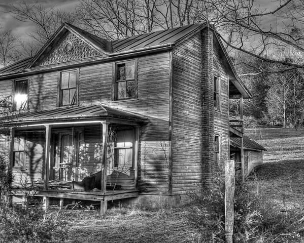Old House Poster featuring the photograph This Old House by Todd Hostetter