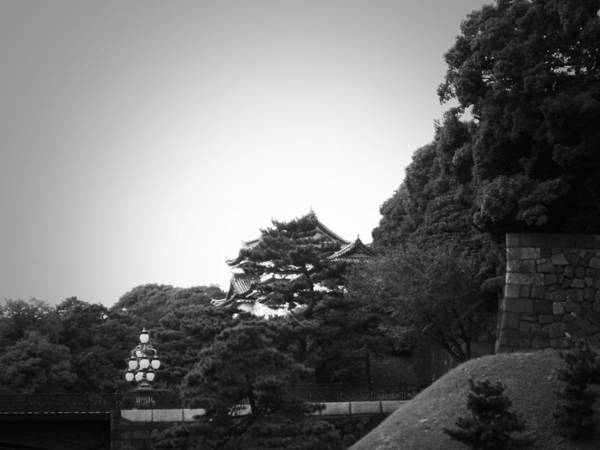 Tokyo Poster featuring the photograph Tokyo Imperial Palace by Naxart Studio