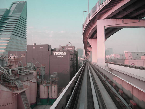 Tokyo Poster featuring the photograph Tokyo Train Ride 5 by Naxart Studio