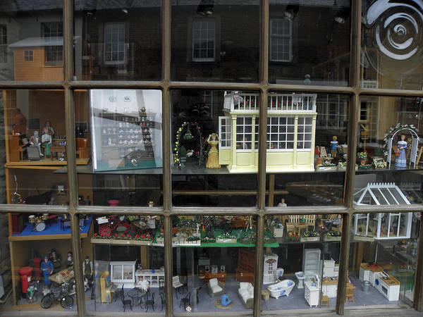 Toy Poster featuring the photograph Toy Shop Window by Diane Barrett