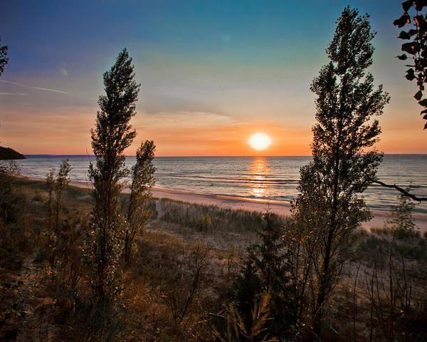 Beach Poster featuring the photograph Twilight Desolation by Jason Naudi Photography