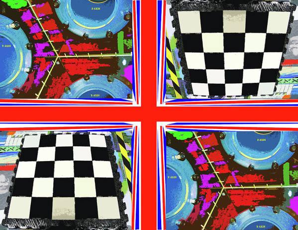 Art Poster featuring the digital art U K Chamber by David Deak