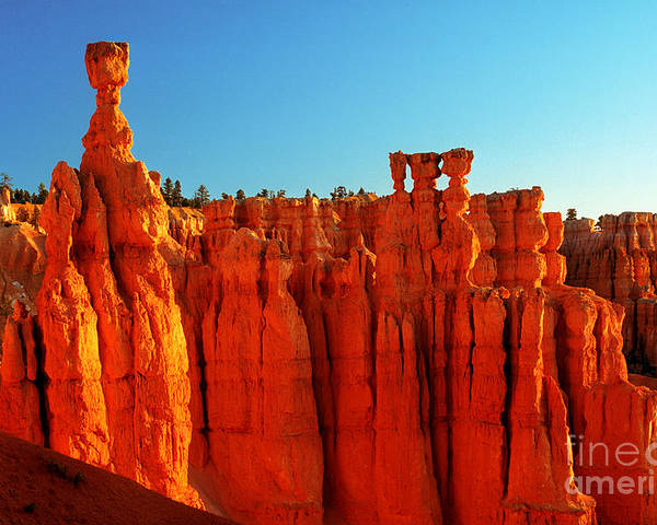 Thor's Hammer Poster featuring the photograph Utah - Thor's Hammer 3 by Terry Elniski