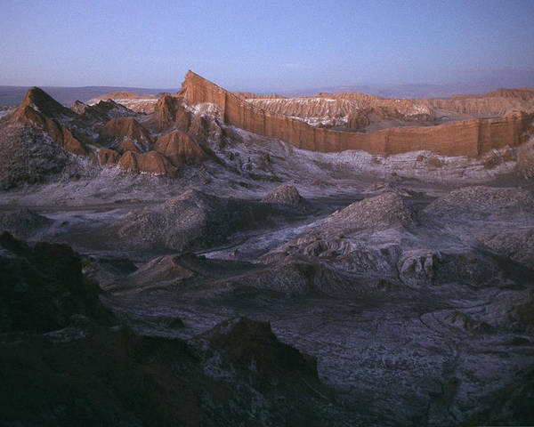 Scenes And Views Poster featuring the photograph View Of The Valley Of The Moon by Joel Sartore