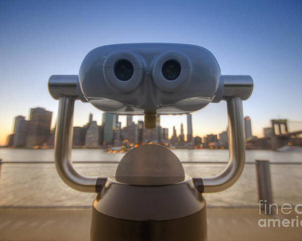 Big Apple Poster featuring the photograph Wall E by Yhun Suarez