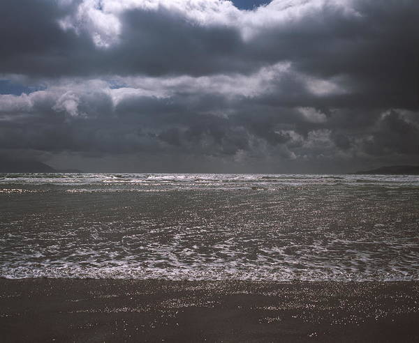 Atlantic Ocean Poster featuring the photograph Waves On Beach by Michael Marten