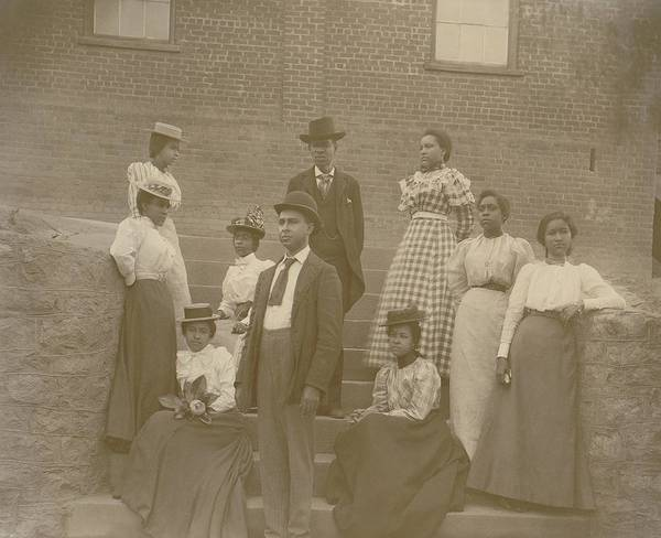History Poster featuring the photograph Well Dressed Young African American Men by Everett