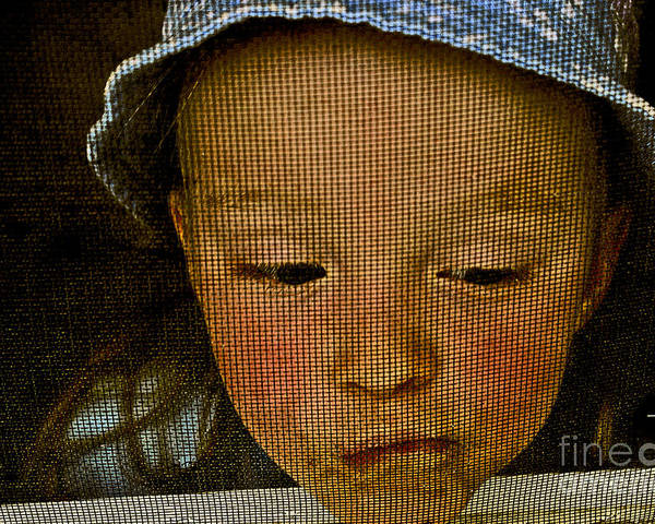 Child Poster featuring the photograph What All Kids Do by Aimelle