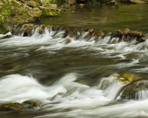Whitewater Poster featuring the photograph Whitewater River Rapids 3 by John Brueske
