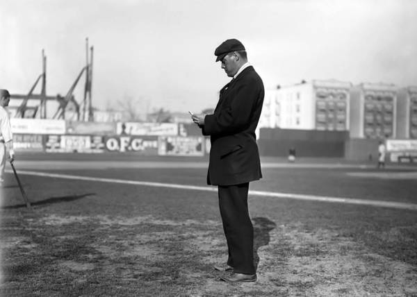 William Henry Dinneen American Man Male Major League Baseball Pitcher Poster featuring the photograph William Dinneen 1910 by Steve K