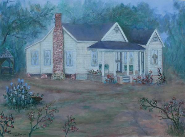Landscape Poster featuring the painting Wilson Homestead by Ben Kiger