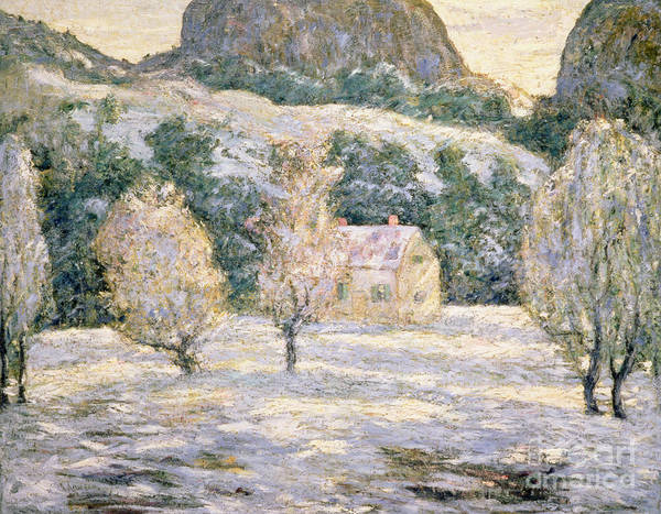 Winter Poster featuring the painting Winter by Ernest Lawson