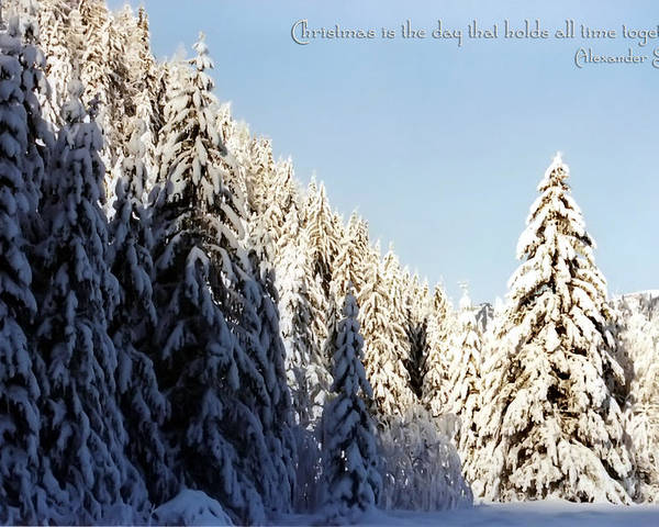 Winter Poster featuring the photograph Winter Wonderland Austria Europe by Sabine Jacobs
