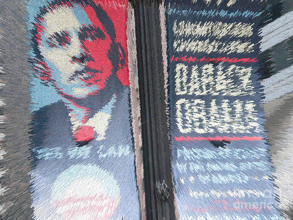 Barack Obama Poster featuring the photograph Y E S - W E - C A N by David Bearden