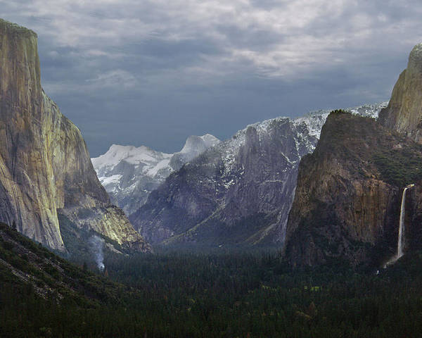 California Poster featuring the photograph Yosemite Valley 2 by Rod Jones