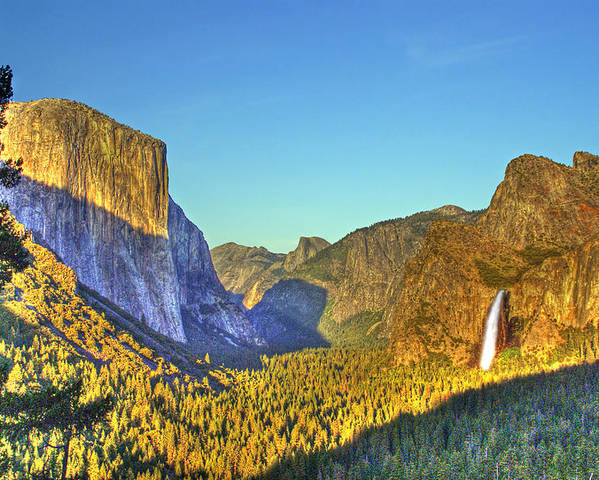 California Poster featuring the photograph Yosemite Valley 4 by Rod Jones