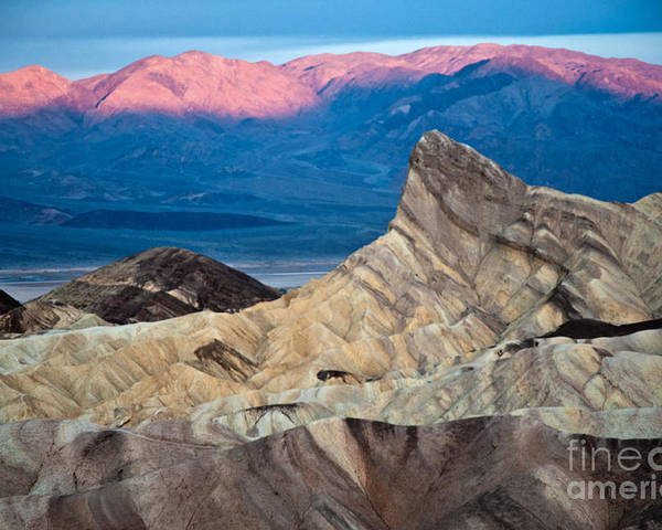 Park Poster featuring the photograph Zabriskie Point Dawn by Jim Chamberlain