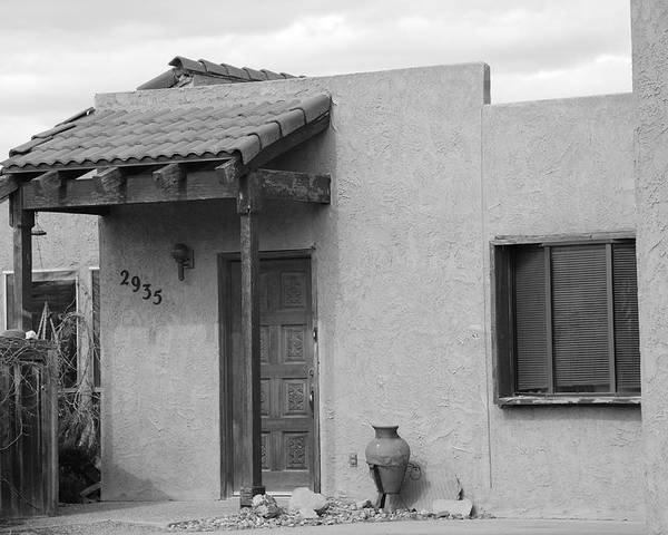 Architecture Poster featuring the photograph Adobe House by Rob Hans