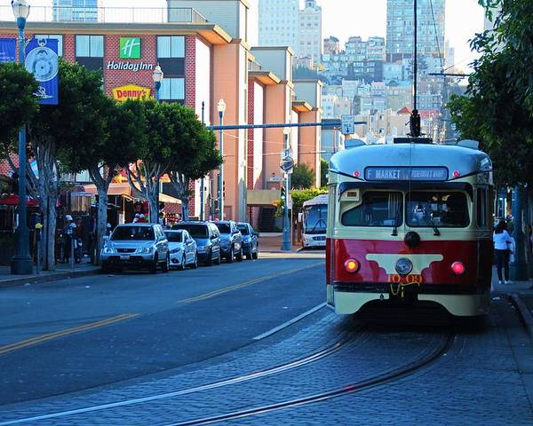 San Francisco Poster featuring the photograph Cable Car by Michiale Schneider