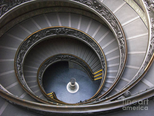 Vatican Poster featuring the photograph Heart Of The Vatican Museum by Sandra Bronstein