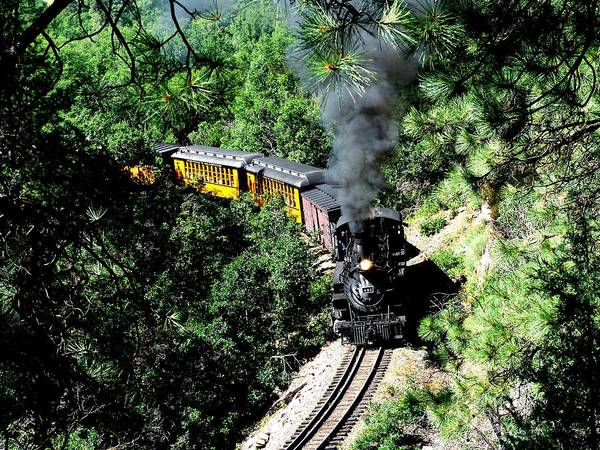 Train Poster featuring the photograph Nostalgic Moments by Carol Milisen