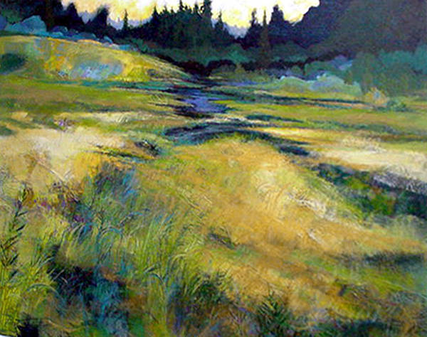 Landscape Poster featuring the painting Water Source by Dale Witherow