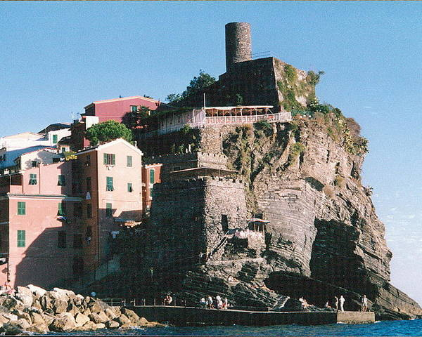 Italy Poster featuring the photograph Cinque Terre 3 Photograph by Kimberly Walker