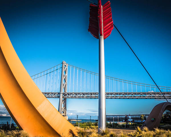 San Francisco Poster featuring the photograph Cupid's Span by Jayasimha Nuggehalli