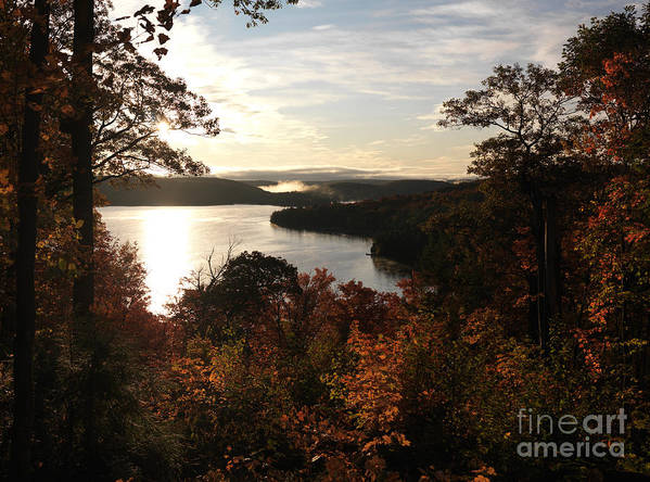 Autumn Poster featuring the photograph Dawn At Algonquin Park Canada by Oleksiy Maksymenko