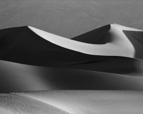 Death Valley Poster featuring the photograph Death Valley Dunes by Matt Trimble