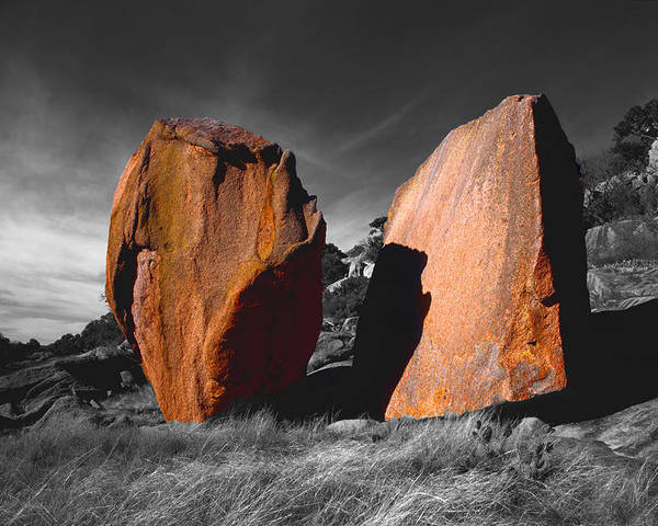 Photography Poster featuring the photograph Enchanted Rock Megaliths by Tom Fant