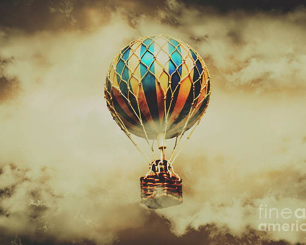 Vintage Poster featuring the photograph Fantasy Flights by Jorgo Photography - Wall Art Gallery