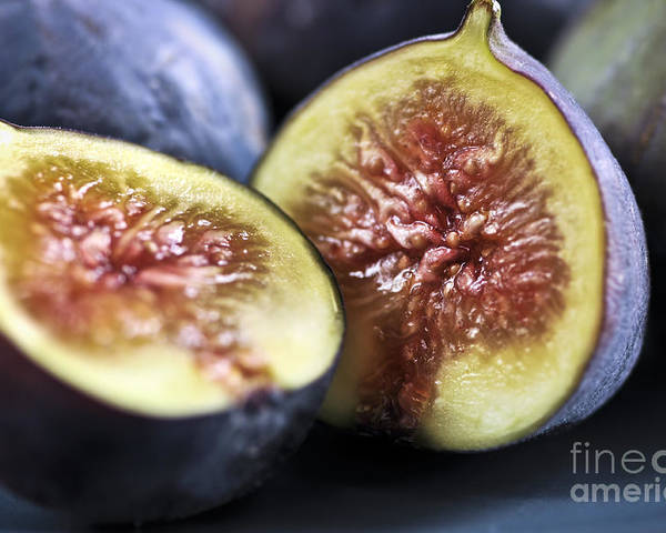 Fig Poster featuring the photograph Figs by Elena Elisseeva