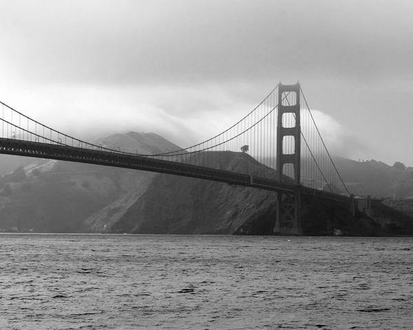 Photography Poster featuring the photograph Golden Gate by Ofelia Arreola
