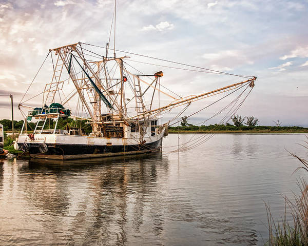 Bayou Lafourche Poster featuring the photograph Golden Meadow, Louisiana by Shane Adams