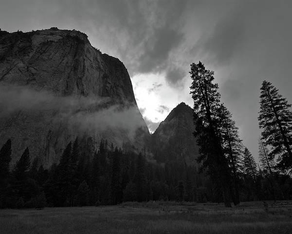 Yosemite National Park Poster featuring the photograph Gunsight by Chris Brewington Photography LLC