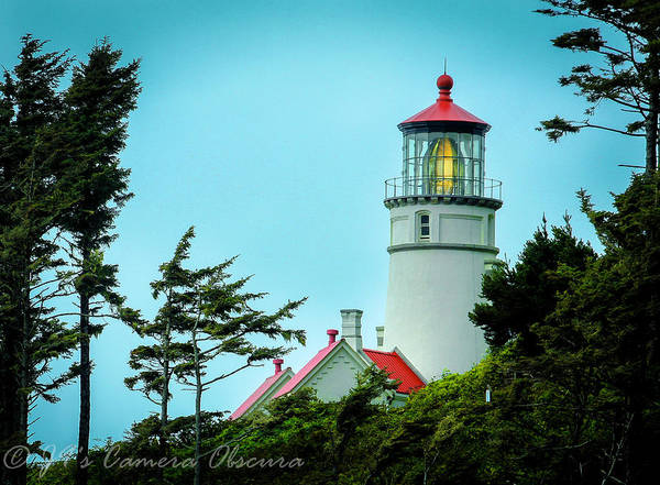 Heceta Lighthouse Poster featuring the photograph Heceta Lighthouse by Janine Moore