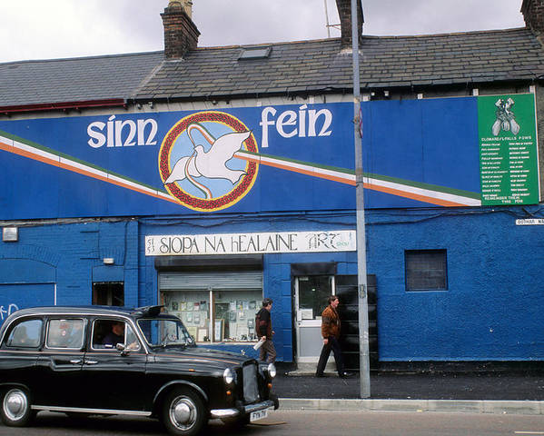 Mural Poster featuring the photograph Ira Mural In Belfast In Northern Ireland by Carl Purcell