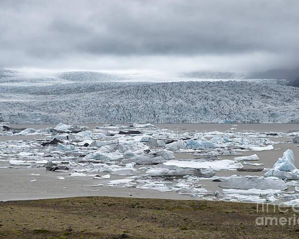 Glacial River Lagoon Poster featuring the photograph Jokulsarlon, Iceland by Ivan Batinic