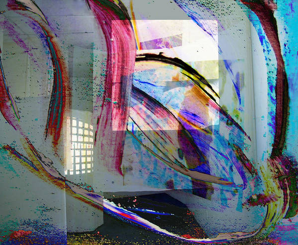 Rainbow Poster featuring the digital art 1 by Laura Kaschmitter