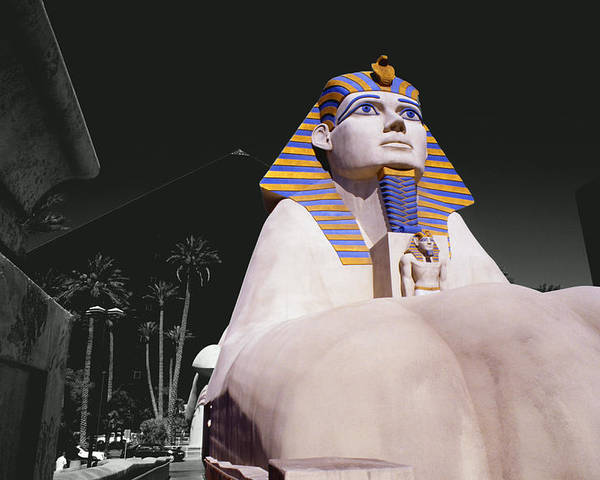 Photography Poster featuring the photograph Luxor Sphynx by Tom Fant