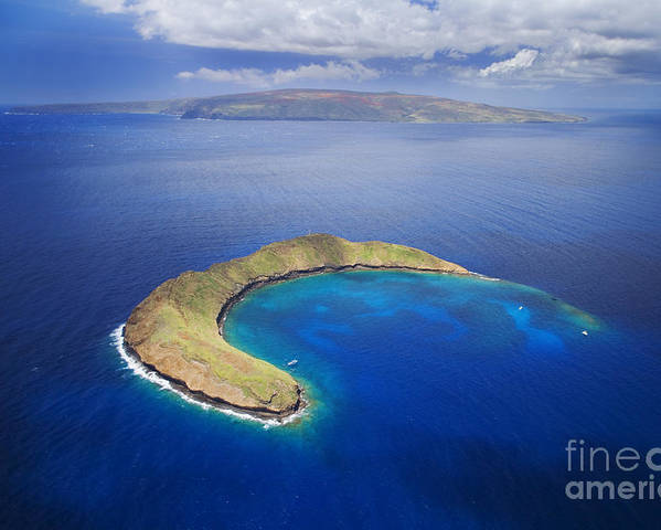 Above Poster featuring the photograph Maui, View Of Islands by Ron Dahlquist - Printscapes