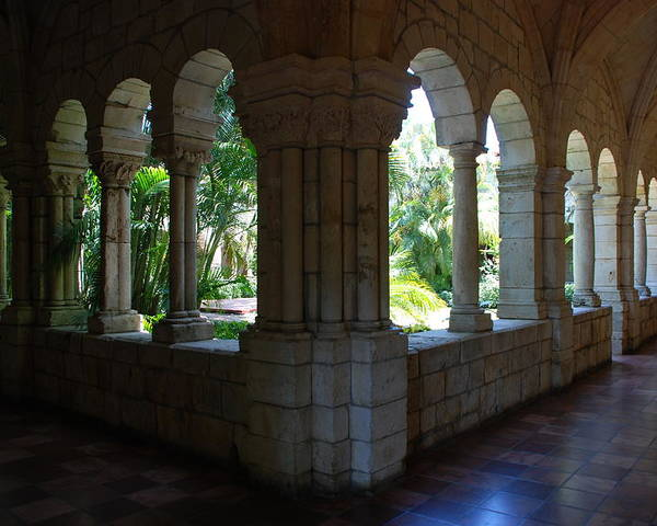 Architecture Poster featuring the photograph Miami Monastery by Rob Hans