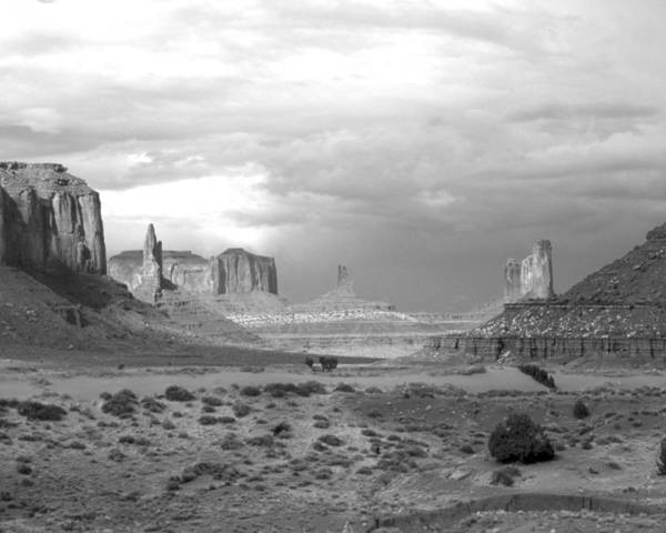 Monument Valley Poster featuring the photograph Monument Valley Afternoon by Troy Montemayor