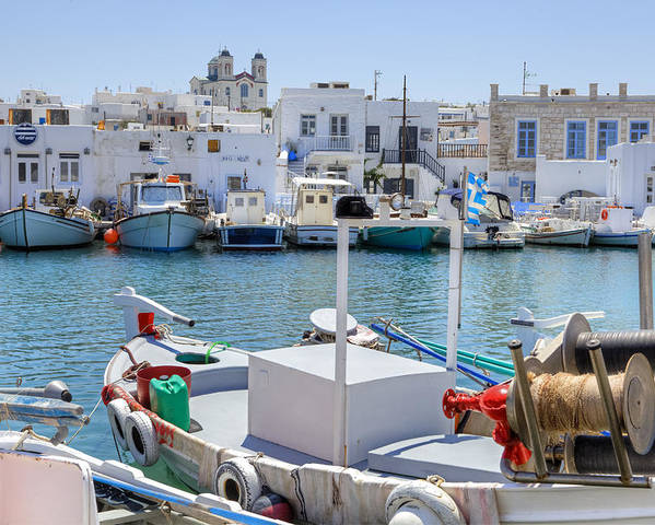 Naoussa Poster featuring the photograph Paros - Cyclades - Greece by Joana Kruse
